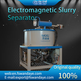 High Intensity Magnetic Separator Machine , Wet Magnetic Coolant Separator ceramics slurrry chemical battery paste